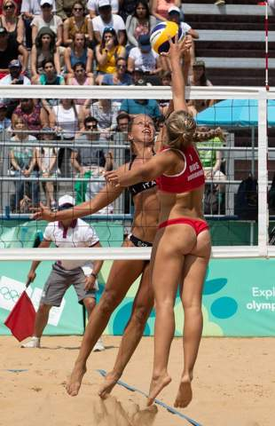 Why do volleyball players always have so scared panties?
