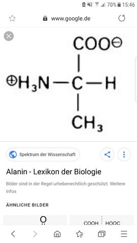 Wieso hat Alanin zwei verschiedene Strukturformeln?