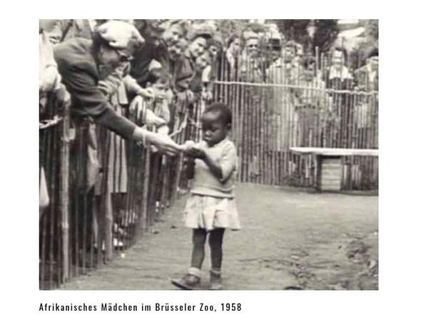 Menschenzoo im Jahre 1958 - (Freizeit, Geschichte, Rassismus)