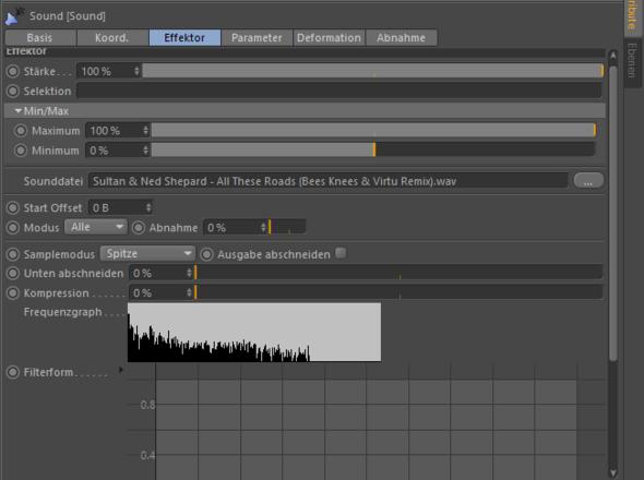 Der Sound Effektor mit Wellenform - (Youtube, Sound, Windows 10)