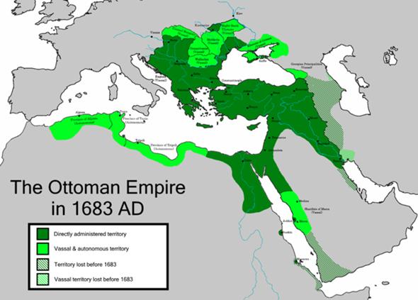 Wieso hat das osmanische reich nur Küsten Gebiete erobert?