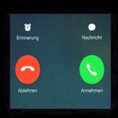 Wenn man die Wahl hat. - (iPhone, Anruf, Annehmen und Ablehnen)