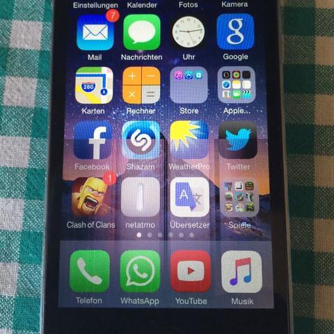 wieso hat mein iphone5 display hat streifen apple iphone 5. Black Bedroom Furniture Sets. Home Design Ideas