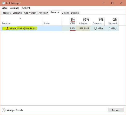 CPU (Taskmanager) - (Computer, PC, Prozessor)