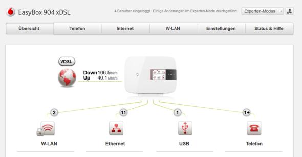 Anzeige an Router - (Internet, dlan, Devolo)