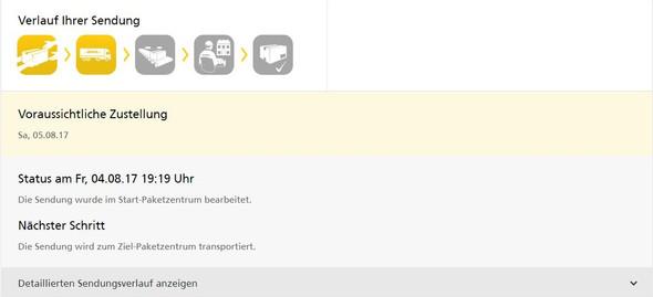 hi - (Paket, DHL, aendern)