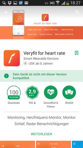 Das wird angezeigt  - (Handy, App, Play Store)