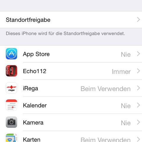 So sieht es aktuell aus.v - (iPhone, Datenschutz, Ortung)