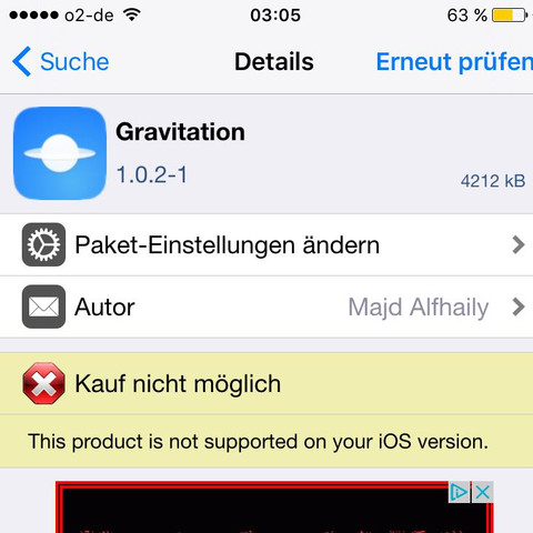 [Hier] - (iPhone, Jailbreak, Cydia)