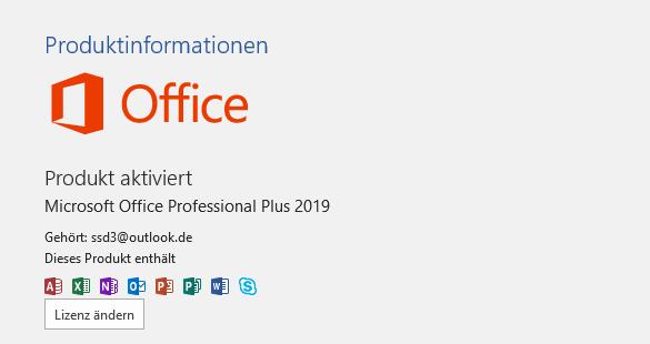 Wieso kann ich Microsoft Office 2019 Pro Plus auch auf mein zweit PC die Lizenz Aktivieren?