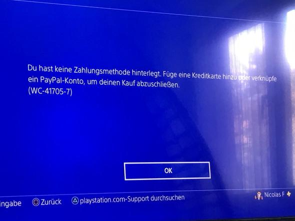 Der Fehlercode - (Playstation, Playstation Plus)