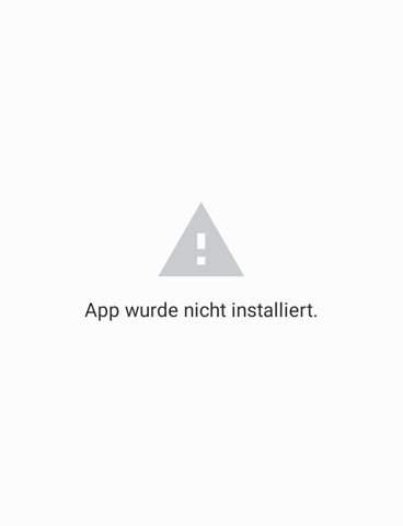 Wieso kann ich mir keine App aus dem Internet runterladen?