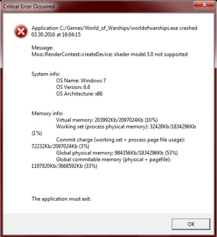 Crash Nachricht - (Computer, Computerspiele, crash)