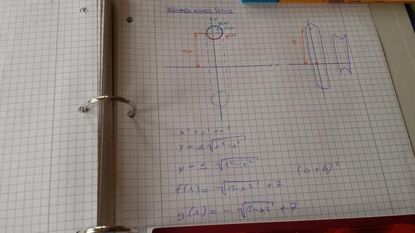 Volumen eines Torus - (Schule, Körper, Mathe)