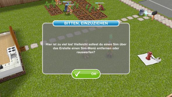 Sims können nicht zusammenziehen. - (Technik, Games, Sims)