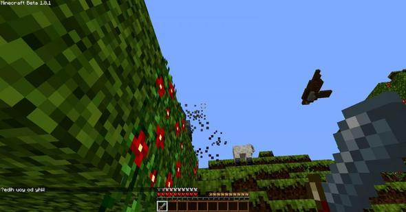 ... - (Minecraft, GHerobrine 1.8, Herobrine Bild)