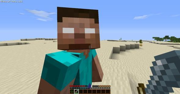 .... - (Minecraft, GHerobrine 1.8, Herobrine Bild)