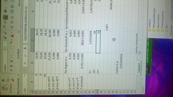 Rechnung - (Mathematik, Excel)
