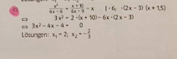 Wieso rechnet man am Anfang Mal 6?