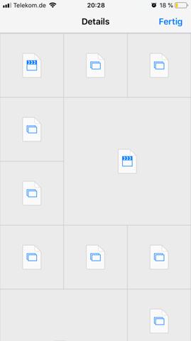 Wieso sehe ich die geteilten Bilder auf iMessage nicht mehr?