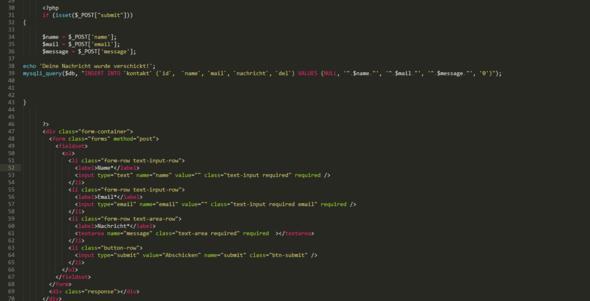 Das Bild - (programmieren, html, PHP)
