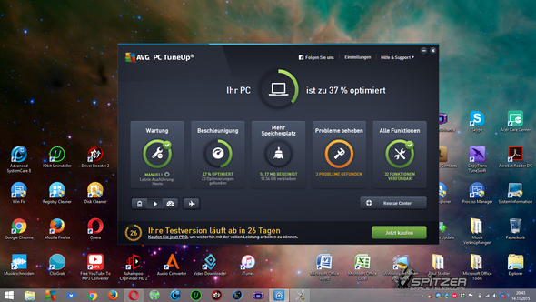 AVG PCTune Up - (Computer, PC, Internet)