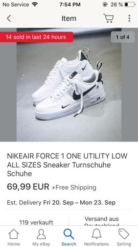 Wieso sind die Schuhe so billig auf Ebay?