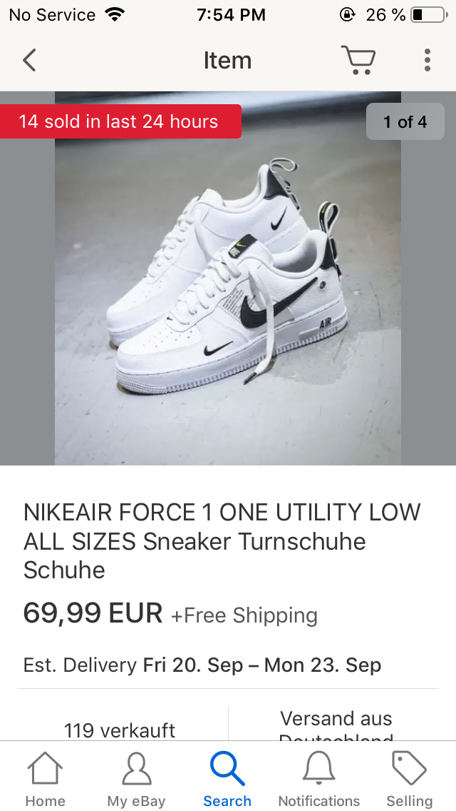 sind auf EbayModeNike Schuhe so billig Wieso die 3LA54Rj