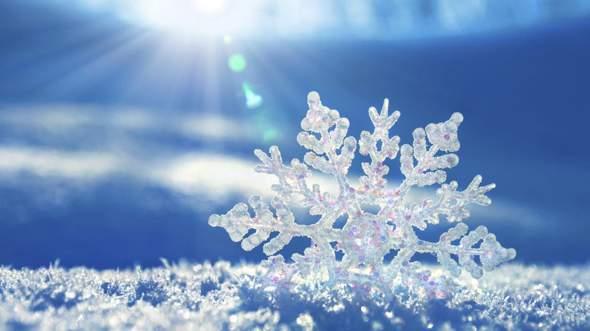 Wieso sind Schneeflocken so wunderschön?