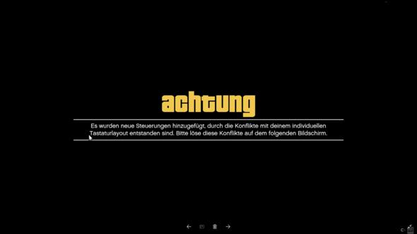 Fehlermeldung - (GTA 5, startet-nicht, Tastenbelegung)