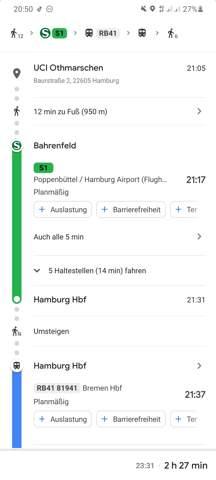 Wieso stimmt meine DB-Navigator App mit der Google Maps App nicht überein? Welche App hat jetzt recht?