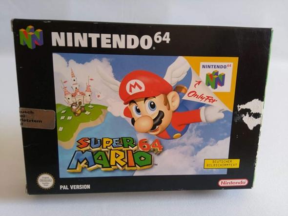 Wieso war die Verpackung eines N64-Spiels so riesig (Pappe)?
