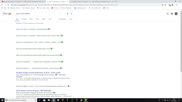Wieso Werden Bei Chrome Manche Seiten Nicht Richtig Angezeigt