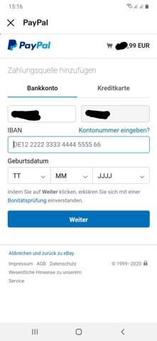 Paypal Zahlungsquelle HinzufГјgen Obwohl Bereits Vorhanden