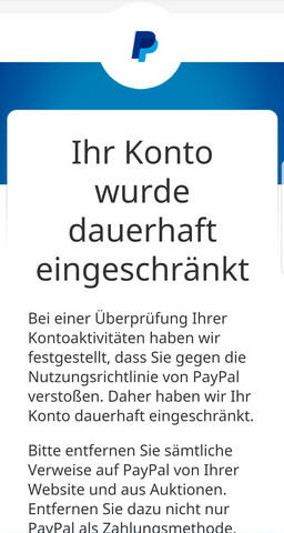 paypal an falsche e mail geld gesendet