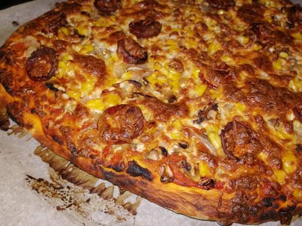 wieso wollen alle immer so total knusprige pizza?