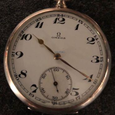 Wieviel ist diese alte Omega Taschenuhr ca wert?