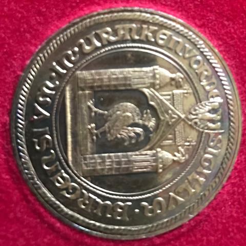 Rückseite der Münze - (Wert, Muenzen, schätzen)