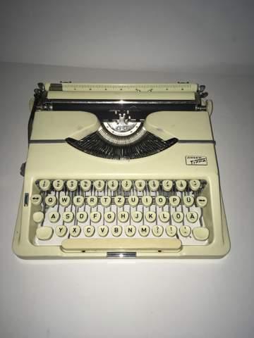 Wieviel ist diese Schreibmaschine wert?