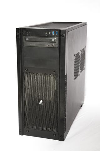 PC von außen - (Computer, PC, Hardware)