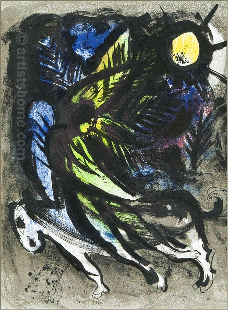 wieviel ist meine chagall litho wert kunst bildung. Black Bedroom Furniture Sets. Home Design Ideas