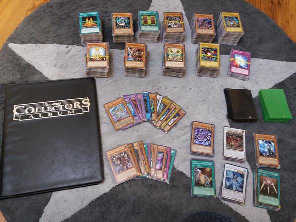 Kartensammlung - (Verkauf, Karten, Yugioh)
