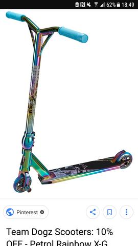 wieviel kann ich für den Stunt Scooter verlangen?