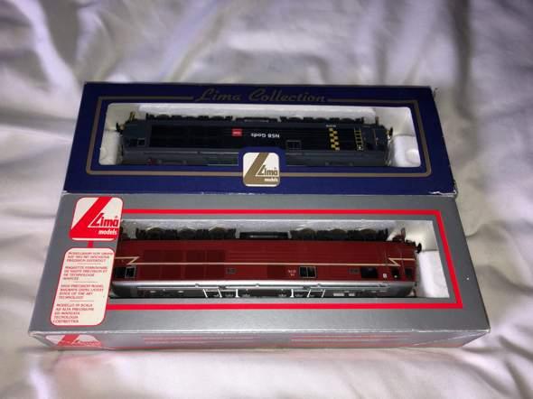 Wieviel könnte ich für diese Lima Lokomotiven fragen (modellbau)?