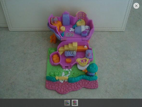 Polly Pocket mini Haus - (DDR, BRD, polly-pocket)