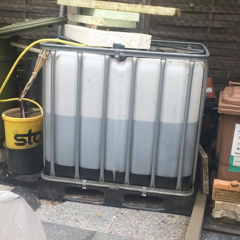 Regenwassertank - (Regentonne, Regenwassertank)