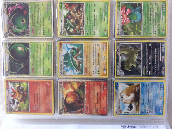 1t - (Pokemon, Karten, Wert)