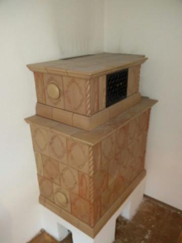 Kachelofen   (Ofen, Wohnzimmer, Kachelofen)