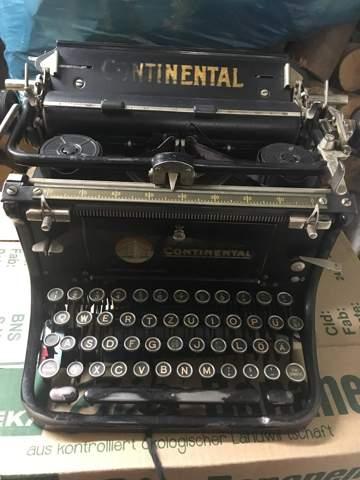 Wieviel Wert hat diese alte Continental Schreibmaschine noch und welches Modell ist das ca.?