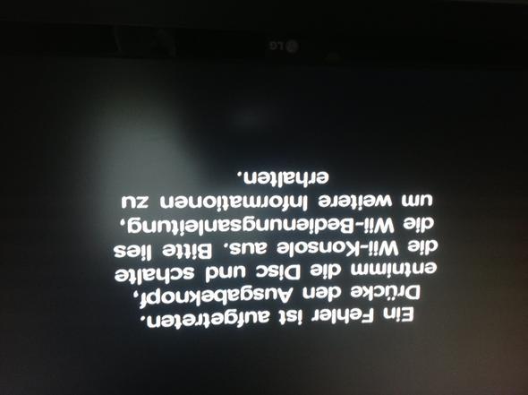 Neuer fehlbildschirm - (Konsolen, Update, Wii)